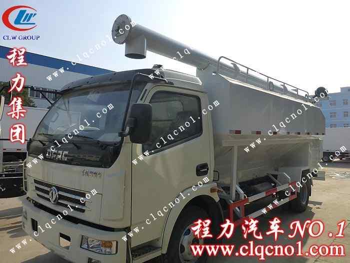 东风多利卡散装饲料运输车(国五)