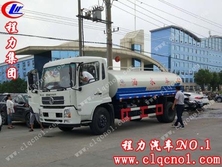 雨后见彩虹,河南南阳张先生来程力专用汽车股份有限公司自提东风天高清图片