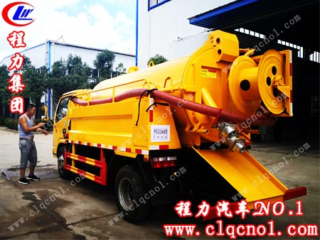 东风多利卡清洗洗污车