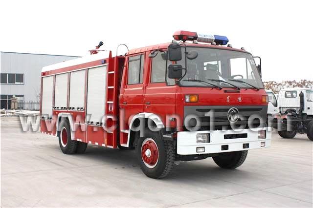 东风153泡沫水罐消防车