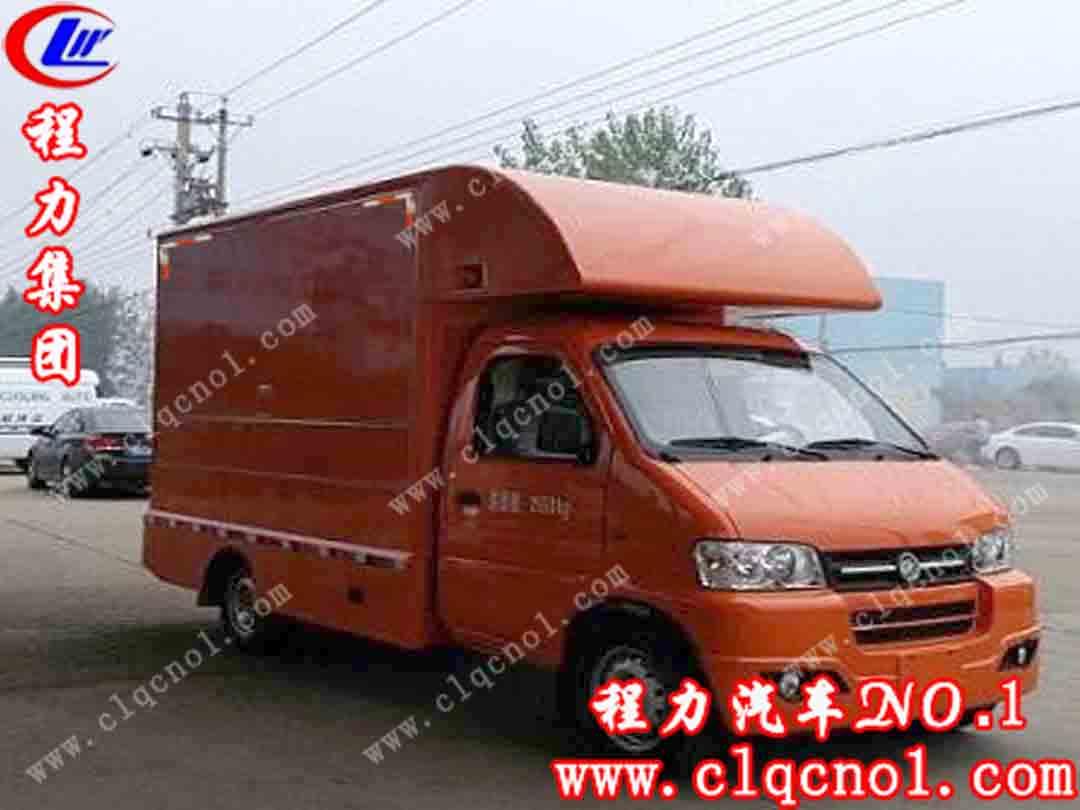 程力纯电动售货车(国五)