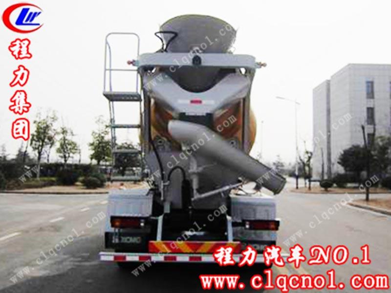 陕汽德龙6方混凝土搅拌运输车(国五)