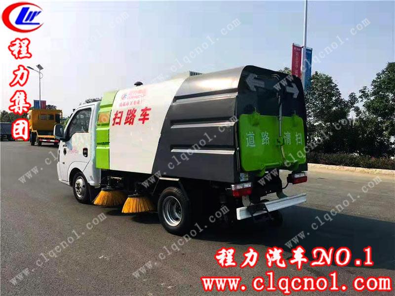 程力集团国六东风逸途扫路车