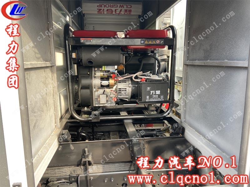程力集团国六东风小多利卡抑尘车的细节图