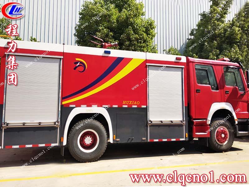 程力集团,带你一起了解消防车的基本知识