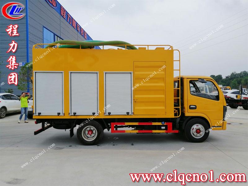 程力集团出厂的正宗国六污水净化车