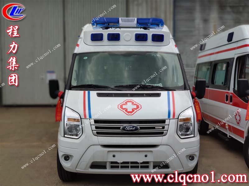程力集团6台江铃福特医疗救护车完美收官,将远赴新疆为当地医疗机构助威!