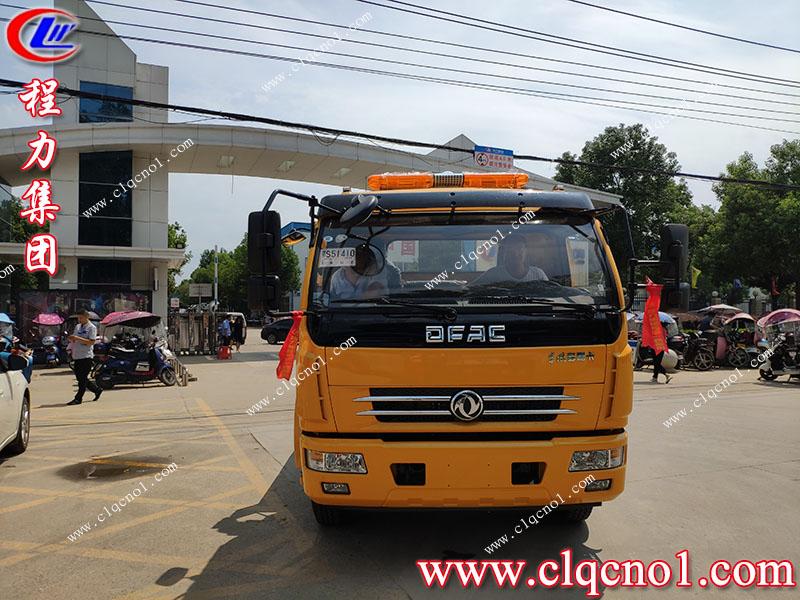 程力集团东风D8清障车