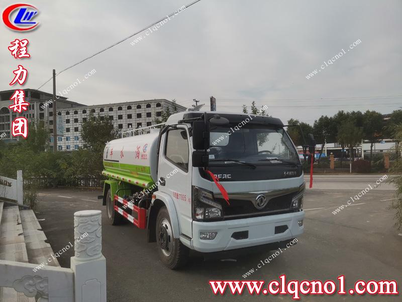 第二台程力集团东风福瑞卡洒水车发车江苏,如约交车