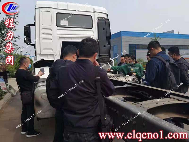 热烈欢迎陕汽集团商用车公司环卫项目组技术研发人员到程力集团调研